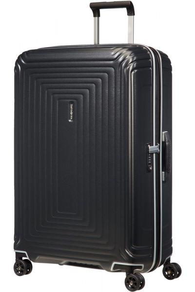 Samsonite Skořepinový cestovní kufr Neopulse DLX 94 l – matná titan