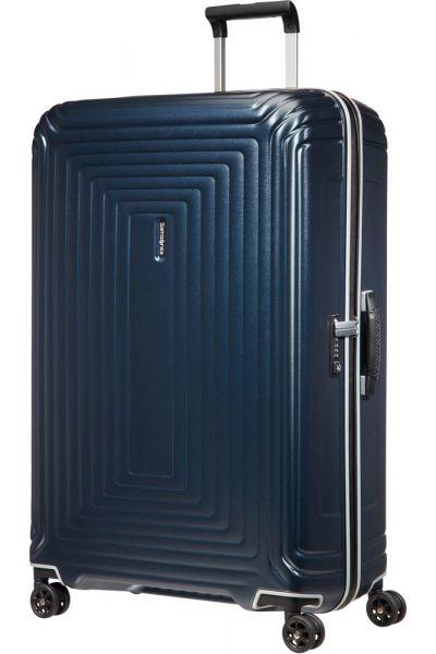 Samsonite Skořepinový cestovní kufr Neopulse DLX 124 l – temně tmavě modrá