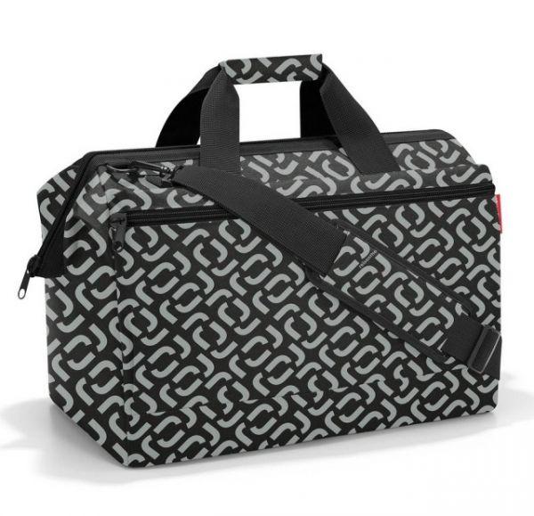 Cestovní taška Reisenthel Allrounder L pocket Signature black