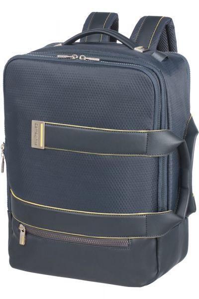 """Samsonite Batoh a taška na notebook 15,6"""" 3v1 Zigo 18 l – modrá"""