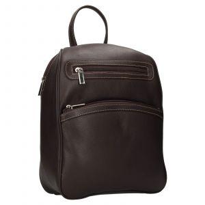 Dámský kožený batůžek SendiDesign 786 – hnědá