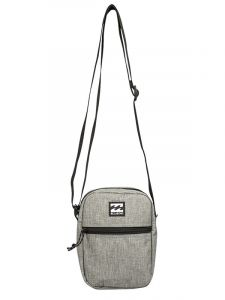 Billabong BOULEVARD SATCHEL grey heather pánská brašna – šedá