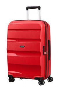American Tourister Skořepinový cestovní kufr Bon Air DLX M EXP 66/73 l – červená