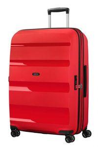 American Tourister Skořepinový cestovní kufr Bon Air DLX L EXP 104/117 l – červená