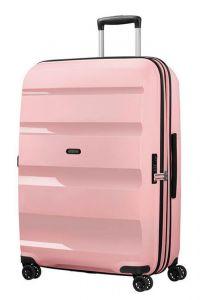 American Tourister Skořepinový cestovní kufr Bon Air DLX L EXP 104/117 l – růžová