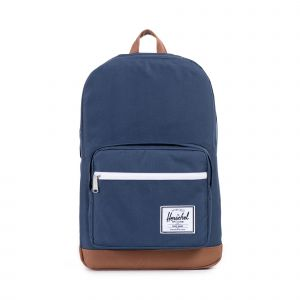 Pop Quiz Navy/Tan Synthetic Leather