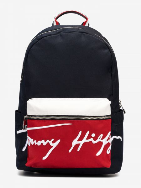 Signature Batoh Tommy Hilfiger Modrá 987074