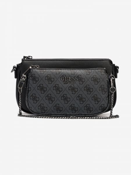 Mika Double Pouch Cross body bag Guess Černá 987155