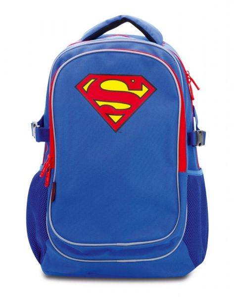 BAAGL Školní batoh s pončem Superman – ORIGINAL