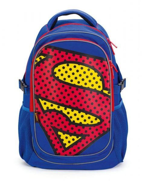 BAAGL Školní batoh s pončem Superman – POP