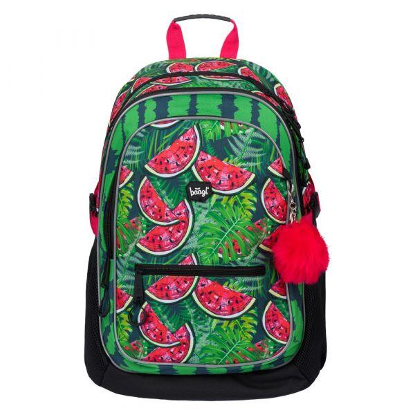 BAAGL Školní batoh Core Meloun 25 l