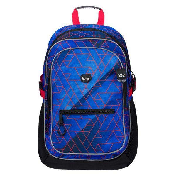BAAGL Školní batoh Core Trigo 25 l