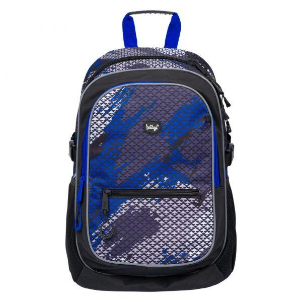 BAAGL Školní batoh Core Paintball 25 l