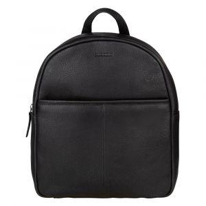 Dámský kožený batoh Burkely Terra – černá