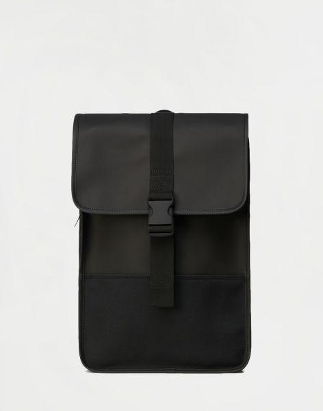 Rains Buckle Backpack Mini 01 Black 10 l