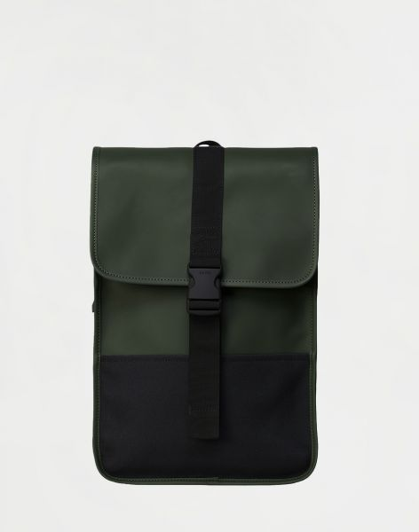 Rains Buckle Backpack Mini 03 Green 10 l