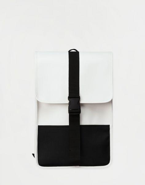 Rains Buckle Backpack Mini 58 Off White 10 l