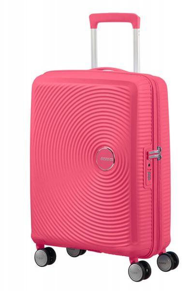 American Tourister Kabinový cestovní kufr Soundbox EXP 35,5/41 l – světle růžová