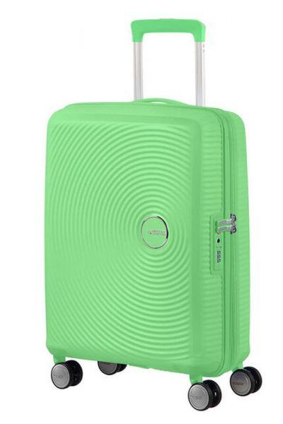 American Tourister Kabinový cestovní kufr Soundbox EXP 35,5/41 l – světle zelená
