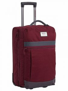 Burton CHARTER ROLLER PORT ROYAL SLUB kufr do letadla – vínová