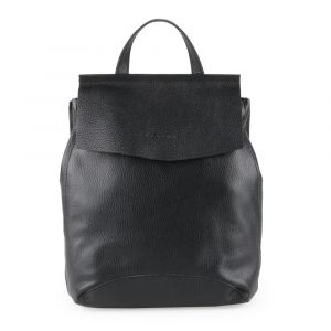 Unidax Dámský kožený batoh Facebag Kenny 8018 – černá