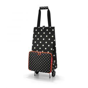 Reisenthel Skládací nákupní taška na kolečkách Mixed Dots 30 l
