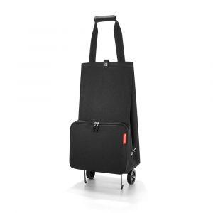Reisenthel Skládací nákupní taška na kolečkách černá 30 l