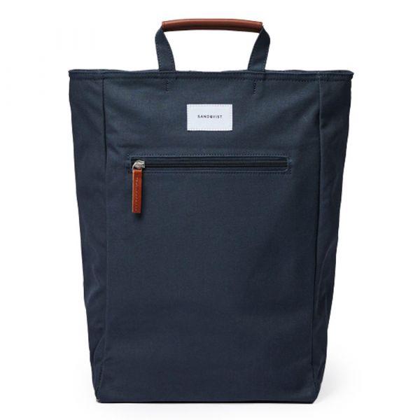 Sandqvist Městský batoh Tony 13 l tmavě modrý