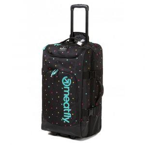 Meatfly Cestovní taška na kolečkách Contin 3 100 l – černá