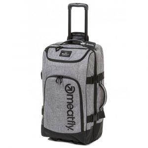 Meatfly Cestovní taška na kolečkách Contin 3 100 l – šedá