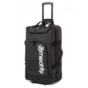 Meatfly Cestovní taška na kolečkách Contin 3 100 l – tmavě šedá