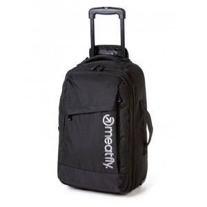 Meatfly Cestovní taška/batoh na kolečkách Revel 40 l – černá