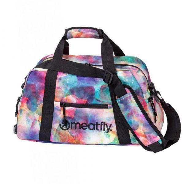 Meatfly Cestovní taška Mavis Universe Color 26 l – multicolor