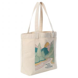 Cotton tote VINTAGE WHITE HALFIEPRINT