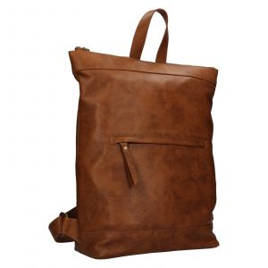 Kožený batoh Facebag Luciens – koňak