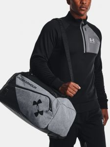 Taška Under Armour Contain Duo SM Duffle – šedá