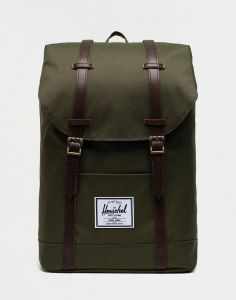 Herschel Supply Retreat Ivy Green/Chicory Coffee 19,5 l