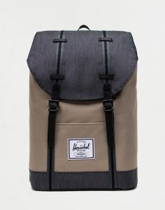 Herschel Supply Retreat Timberwolf/Black Denim 19,5 l