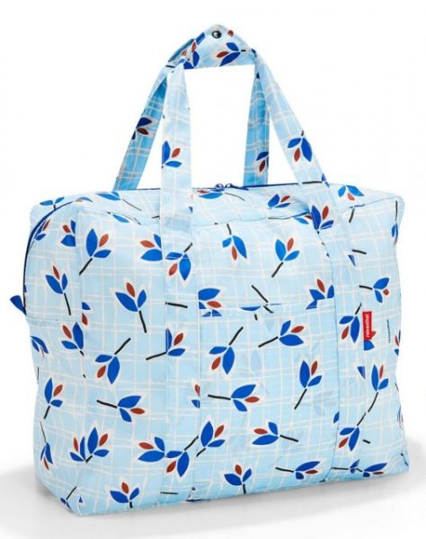 Skládací taška Reisenthel Mini Maxi Touringbag Leaves blue
