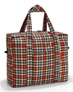 Skládací taška Reisenthel Mini Maxi Touringbag Glencheck red