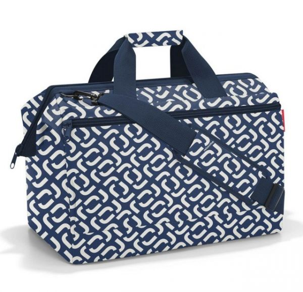 Cestovní taška Reisenthel Allrounder L pocket Signature navy