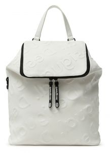 Desigual bílý batoh Back Colorama Loen