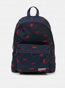 Tommy Hilfiger tmavě modrý batoh Campus Dome Backpack Print