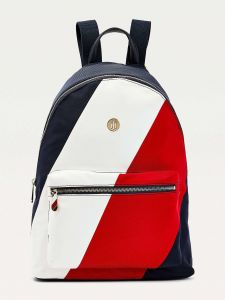 Tommy Hilfiger batoh Poppy Back Pack Soft Nylon Corporate Mix