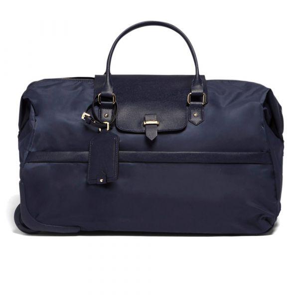 Lipault Cestovní taška na kolečkách Plume Avenue 41,6 l – tmavě modrá