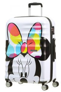 American Tourister Cestovní kufr Wavebreaker Disney Spinner 64 l – Minnie Close-Up