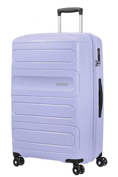 American Tourister Cestovní kufr Sunside EXP 106/118 l – fialová