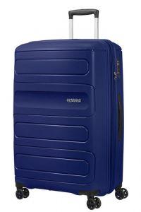 American Tourister Cestovní kufr Sunside EXP 106/118 l – tmavě modrá