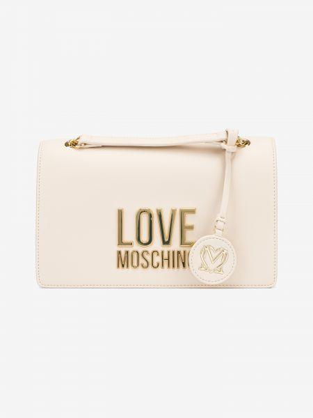 Cross body bag Love Moschino Béžová 1006417