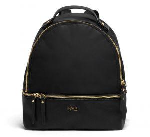 Lipault Dámský batoh Plume Avenue Nano 7,7 l – černá